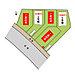 全体区画図。全5区画の分譲地です。2号棟・5号棟は新築戸建、4号棟は自由設計対応の建築条件付き売地です。,3SLDK#4LDK,面積96.05m2(2号棟・5号棟),価格2号棟4380万円、5号棟4380万円,JR総武線「西船橋」駅 徒歩20分,京成本線「京成西船」駅 徒歩14分,千葉県船橋市古作3