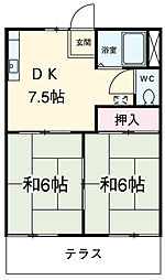 名古屋市営東山線 岩塚駅 バス15分 西條島井下車 徒歩7分