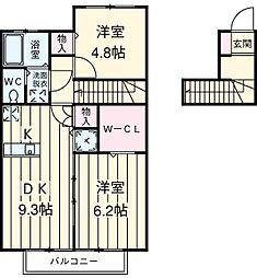 伊奈中央駅 6.6万円