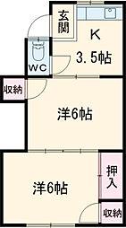 東枇杷島駅 3.5万円
