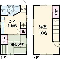 西ヶ原駅 8.9万円