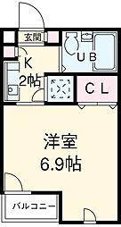 洗足駅 6.5万円