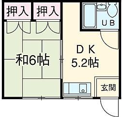 有松駅 3.8万円