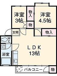 【敷金礼金0円!】青梅線 西立川駅 徒歩18分
