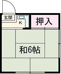 上中里駅 3.3万円