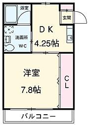 二川駅 4.6万円