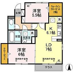 平田町駅 7.4万円