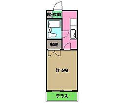 西八王子駅 3.4万円