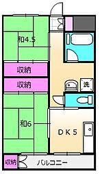 下総中山駅 5.5万円