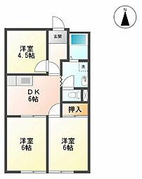 桜木駅 3.8万円