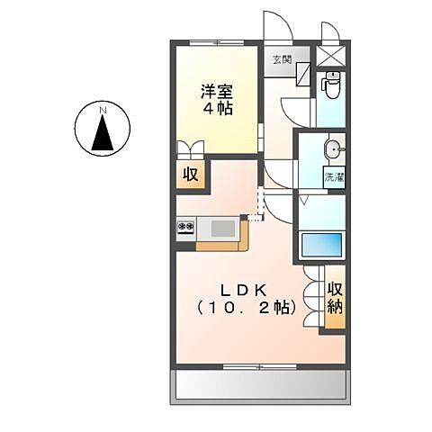 ホームズ でお部屋探し グリーンティアラ 2階