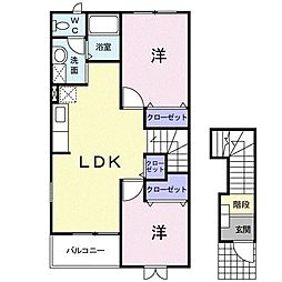小前田駅 4.5万円