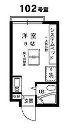 成城学園前駅 4.4万円