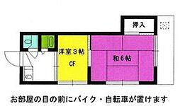 中神駅 3.5万円