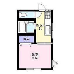 穴川駅 3.8万円