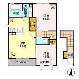 新治駅 6.0万円