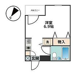 洗足駅 7.4万円