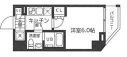 仮)レガーロ吉野町 6階1Kの間取り