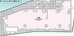 (仮称)溝口一丁目マンション 1階ワンルームの間取り