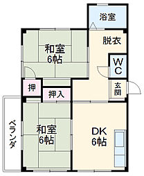 春田駅 3.9万円