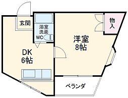 細畑駅 3.4万円
