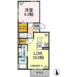 伊豆箱根鉄道駿豆線 三島二日町駅 徒歩11分の賃貸アパート