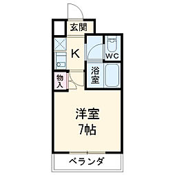 植田駅 2.7万円
