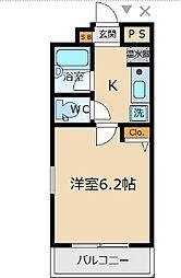 洗足駅 8.4万円