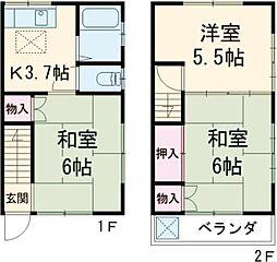 都営新宿線 一之江駅 バス10分 バス便下車 徒歩5分の賃貸アパート