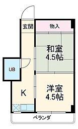八草駅 2.3万円