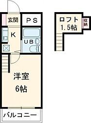 多摩動物公園駅 2.0万円