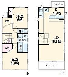 星ヶ丘駅 14.8万円