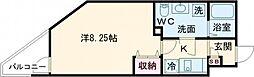 東武東上線 ときわ台駅 徒歩12分の賃貸マンション 3階1Kの間取り