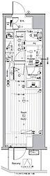 JR山手線 池袋駅 徒歩13分の賃貸マンション 7階1Kの間取り