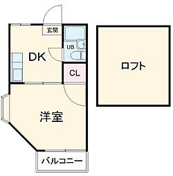 中央林間駅 3.4万円