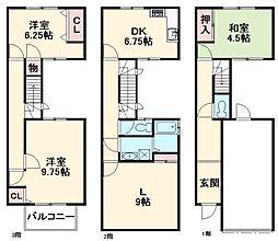 印場駅 9.0万円