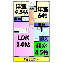 稲毛駅 6.7万円