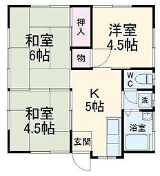 都賀駅 4.7万円