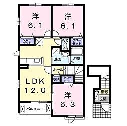 西尾駅 7.4万円