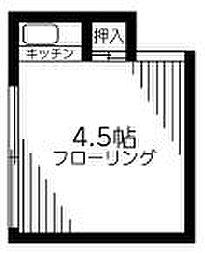 仙川駅 2.2万円