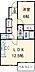 間取り,1LDK,面積46.24m2,賃料6.2万円,東武東上線 高坂駅 徒歩15分,,埼玉県東松山市大字毛塚