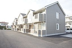 栃木県小山市大字平和の賃貸アパートの外観