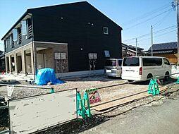 富山県富山市長江4丁目の賃貸アパートの外観