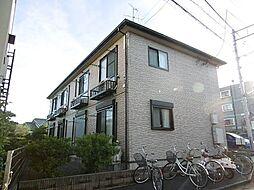 東京都東村山市野口町3の賃貸アパートの外観