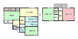 [一戸建] 福岡県福岡市東区多の津5丁目 の賃貸【/】の間取り