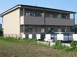 岐阜県加茂郡富加町羽生の賃貸アパートの外観