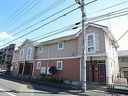 東京都小平市上水本町3丁目の賃貸アパートの外観
