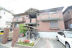 大阪府堺市堺区香ヶ丘町5丁の賃貸アパートの外観