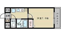 エスリード新大阪第5[1階]の間取り