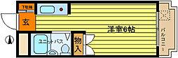 第8新井ビル[403号室]の間取り